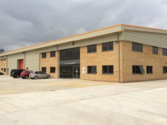 New Holland Extraction: Warehouse, Offices and Production Facility