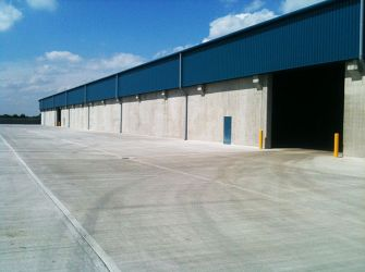 New Holland Bulk Services: Design & Construction of Bulk Store Number 7