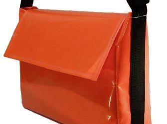 Delivery Bag, Large - Black Strap
