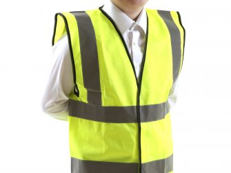 Hi-Vis Children's Waistcoat, Medium
