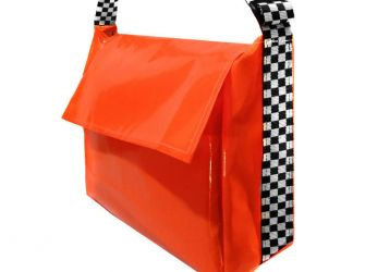 Delivery Bag, XL - Chequered Strap