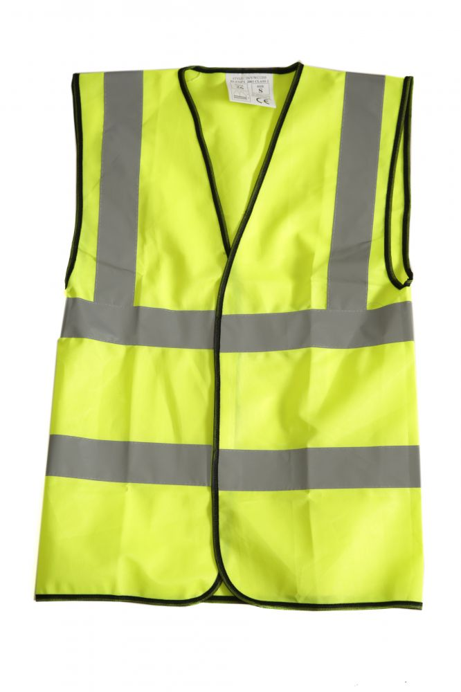 Hi-Vis Adult's Waistcoat, Small, Hi-Vis & Safety