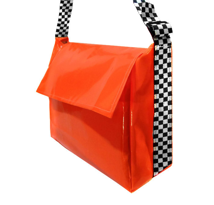 Delivery Bag, XL - Chequered Strap, Delivery Bags
