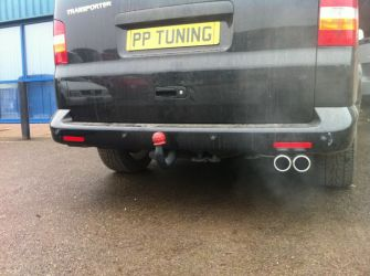 VW T5 Single Out The Rear System