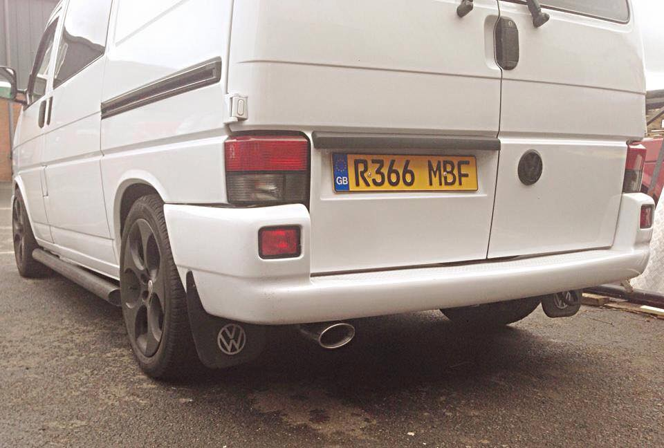 VW T4 Single System Rear Exit