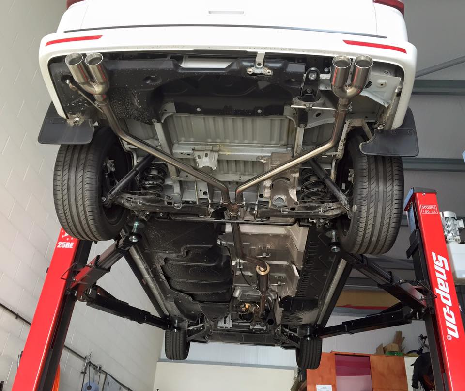 Ford Transit Connect >> VW T5 Transporter Twin Out The Rear Cat Back System ...